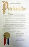 Whitehall proclamation